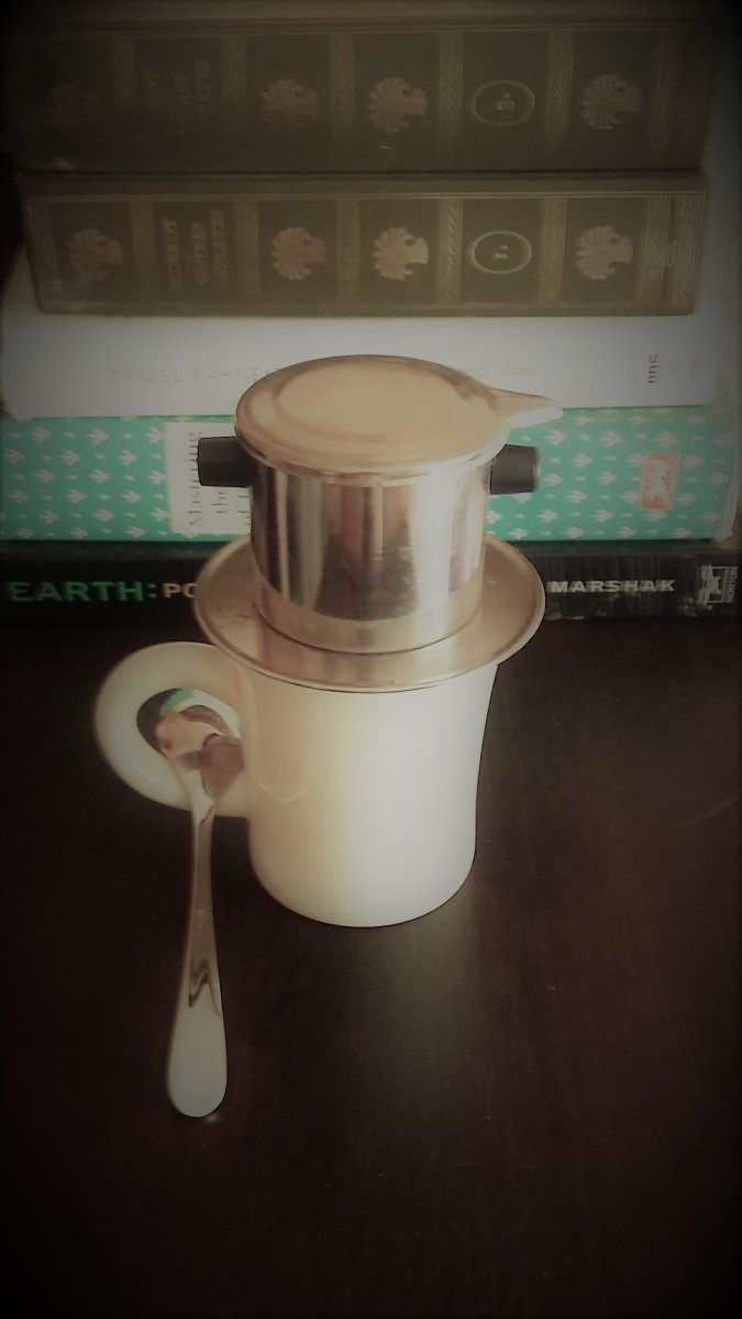 To Federica: how I prepare coffee with a Vietnamese filter